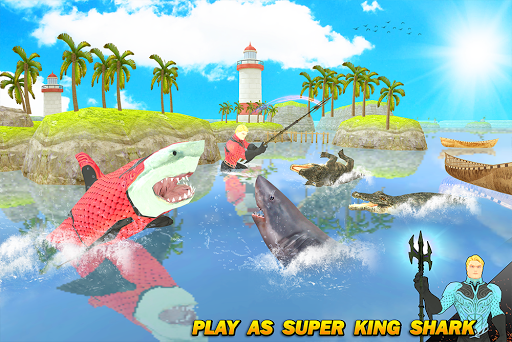 Multi Aqua Shark Hero Vs Sea Animals 1.2 screenshots 12