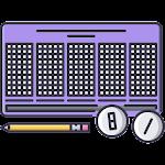 樂透遊戲(含大樂透與威力彩) Icon