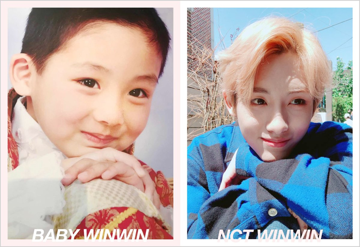 NCT Recreated Their Baby Pictures In Honor Of Children's Day