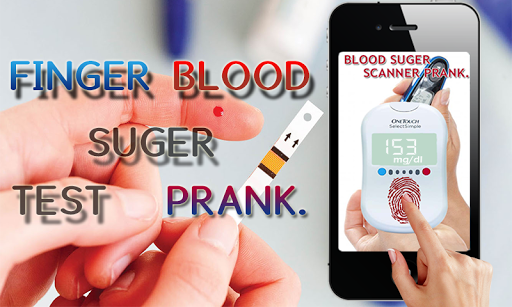 Finger Blood Sugar Test Prank