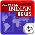 All in One Indian News Links E Hub News Papers icon