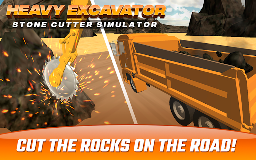 Heavy Excavator  Stone Cutter Simulator 1.0 screenshots 1