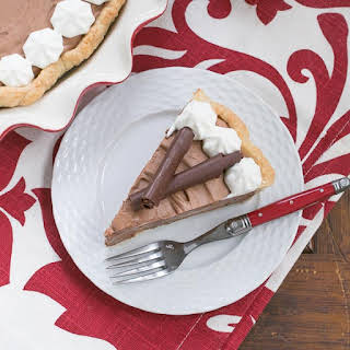 Classic French Silk Pie #ChoctoberFest #Giveaway.