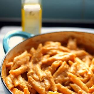 Vegan Creamy Pasta with Butternut and Truffle Oil Recipe