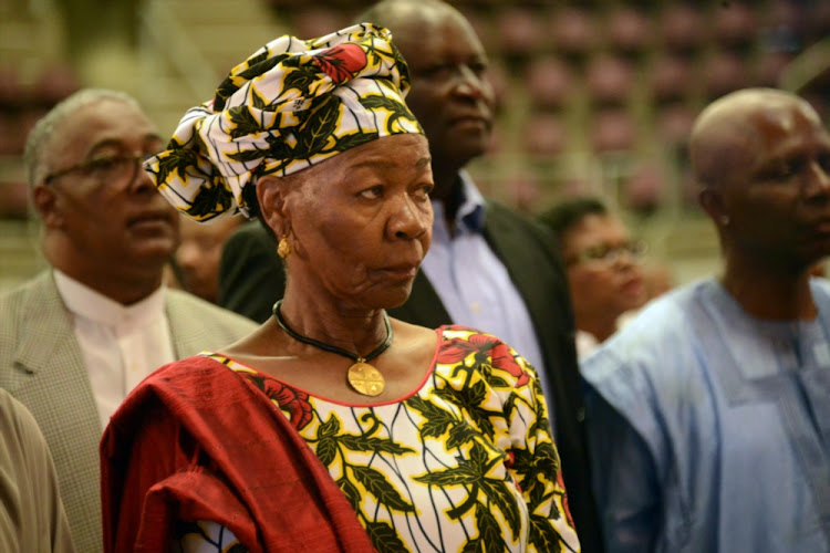 Legendary musicians Letta Mbulu is acting chairperson of the Living Legends Legacy Programme.