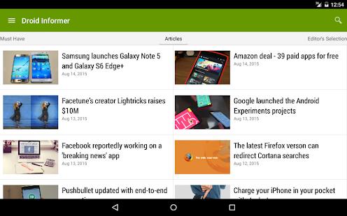 Droid Informer- screenshot thumbnail