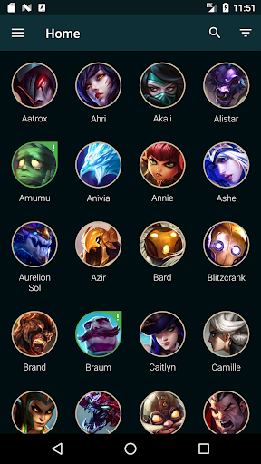 Builds for LoL 1.26.13 app download 1
