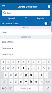 Oxford Spanish Dictionary Mod