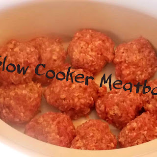Slow Cooker BBQ (Homemade) Meatballs {repost}