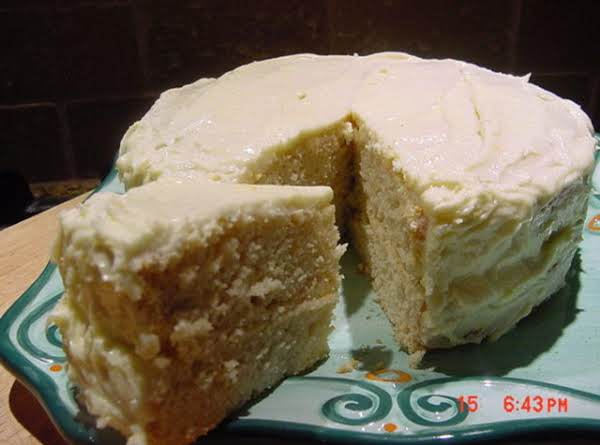 Orange Layer Cake (lowfat) Recipe