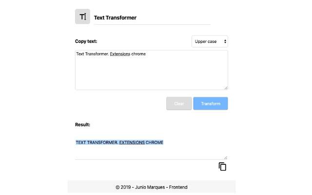 Text transformer