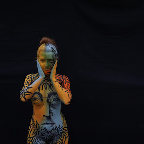 Nude Body Painting by VAM Photography - Nudes & Boudoir Artistic Nude ( painted art, nude, nude art, nyc, places,  )