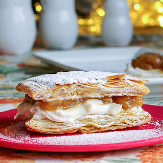 Riesling Apple Brown Butter Ricotta Napoleons.