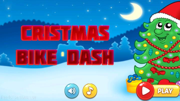 android Santa Bike Dash Screenshot 0