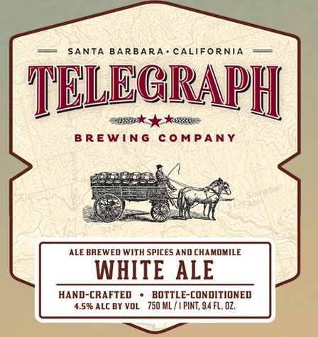 Logo of Telegraph White Ale