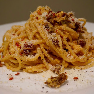 15 minute meal: Delicious Chorizo Carbonara recipe