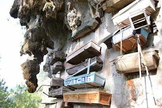 Photo: Hanging Coffins