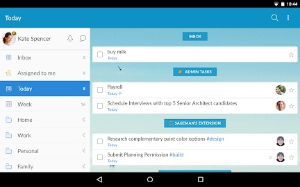 Wunderlist: To-Do List & Tasks Screenshot 14