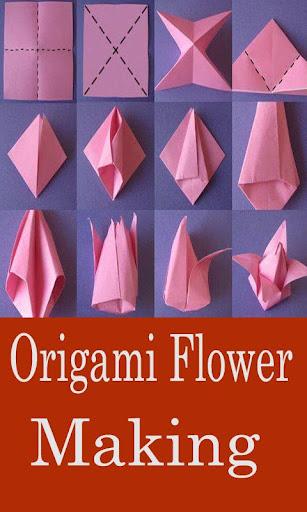 Paper origami flower making step video apk download apkpure paper origami flower making step video screenshot 1 mightylinksfo