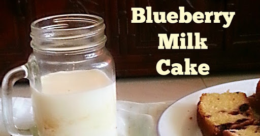 BLUEBERRY MILK  CAKE