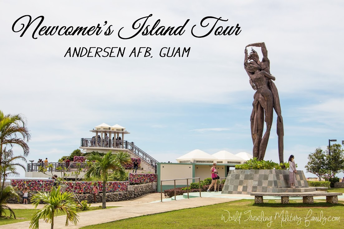 Newcomer's Island Tour - Andersen AFB, Guam