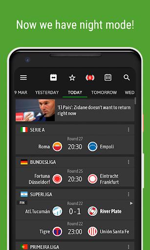 BeSoccer - Soccer Live Score Apk 2
