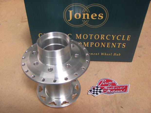 Moyeu arrière Jones pour Triumph Bonneville T120