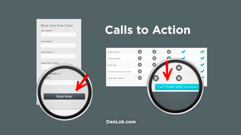 Dan Lok calls to action
