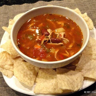Soup Nazi's Mexican Chicken Chili.