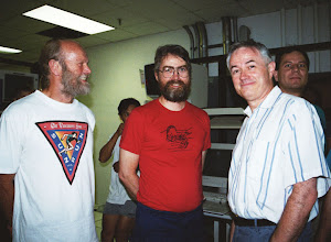 Photo: Peter Madderom, Paul Whaley, John Hogg, and George Lindholm