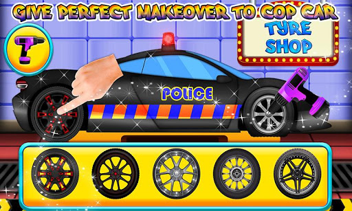 Police Multi Car Wash: Design Truck Repair Game 1.0 1