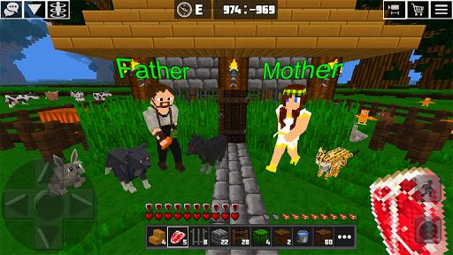 Multicraft: Block Craft Mini World 3D apkdebit screenshots 17