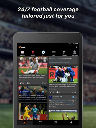 90min - Live Soccer News App  6