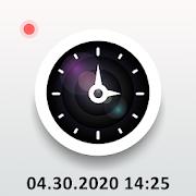 Timestamp camera: DateTime location stamp on photo