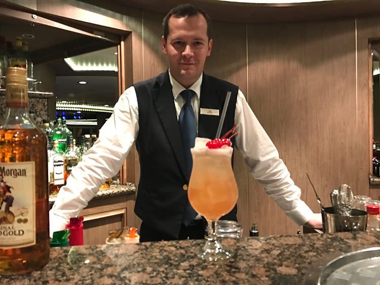 Zak whipped up an original recipe, the Dominica Summer Breeze, starring Capt. Morgan's Gold Rum.
