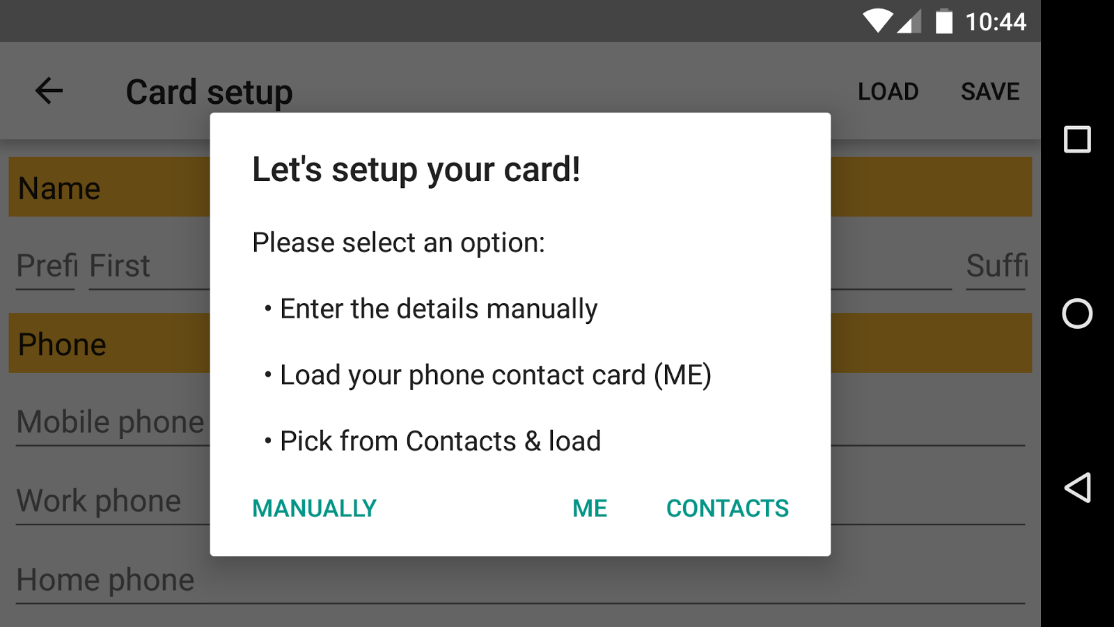 Business Card App Android Apps on Google Play