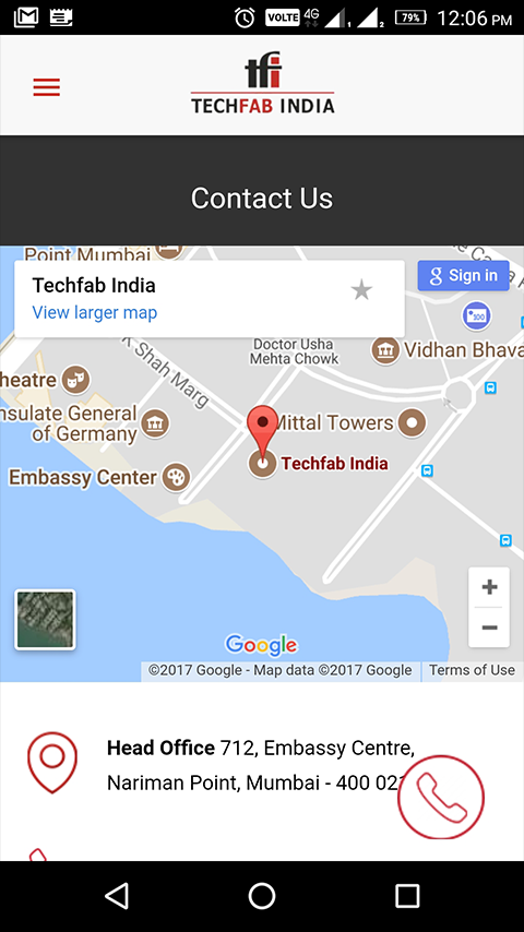TechFab India- screenshot
