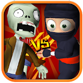 3D Zombie VS Ninja Sufers Run Android APK Download Free By Game Kiss Inc.