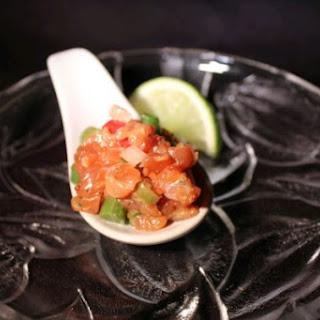 Asian Salmon Tartare