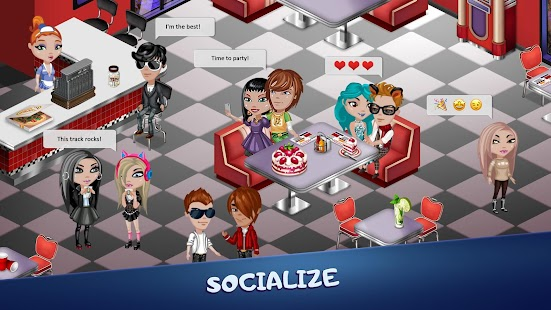 Avatar Life - fun, love & games in virtual world! Screenshot