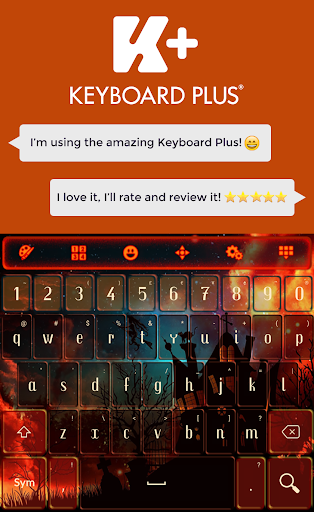 Keyboard Halloween