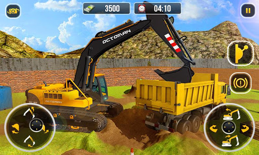 Heavy Excavator Crane - City Construction Sim 2017 1.0.6 Cheat screenshots 1