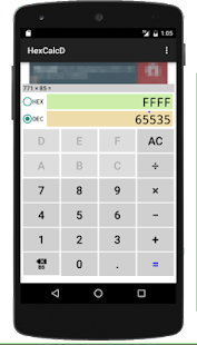 HexCalc D : hex dec calculator- screenshot thumbnail