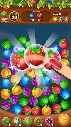Fruits Crush - Link Puzzle Game apktreat screenshots 1
