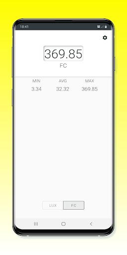 Light Meter - Lux Meter 2.0.4 Screenshots 4