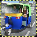 Tuk Tuk Auto Rickshaw Driving icon