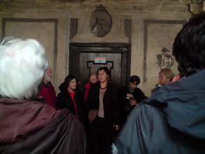 Photo: Pani przewodnik oprowadzała nas po pałacu i klasztorze.