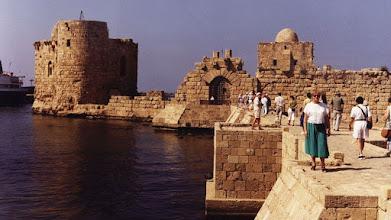 Photo: )9220140 Liban - Sydon (Sajda 3000 pne) - zamek Krzyzowcow XIII w