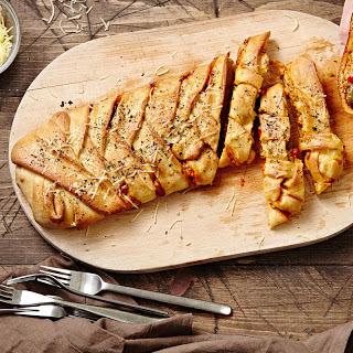 Italian Sausage Calzone.