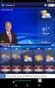 WPXI Severe Weather Team 11- screenshot thumbnail